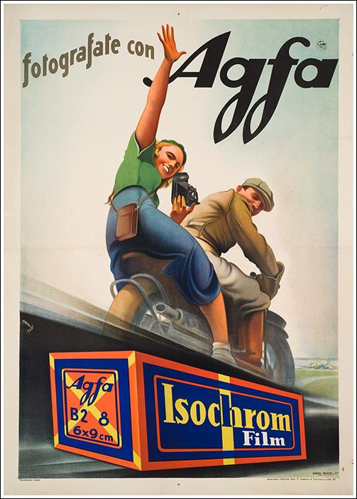 Agfa, Agfa ww2, agfa 1940, Agfa Brovira, Agfa Lupex, Agfa Color, carta fotografica 1930, 1940, agfa poster