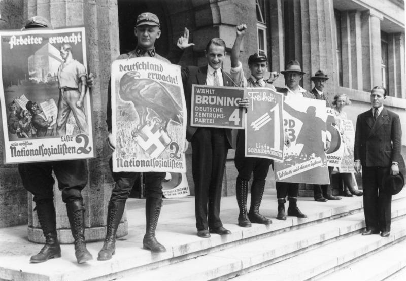Propaganda nazista seconda guerra mondiale, propaganda seconda guerra mondiale, elezioni 1933 Germania, nazismo, seconda guerra mondiale