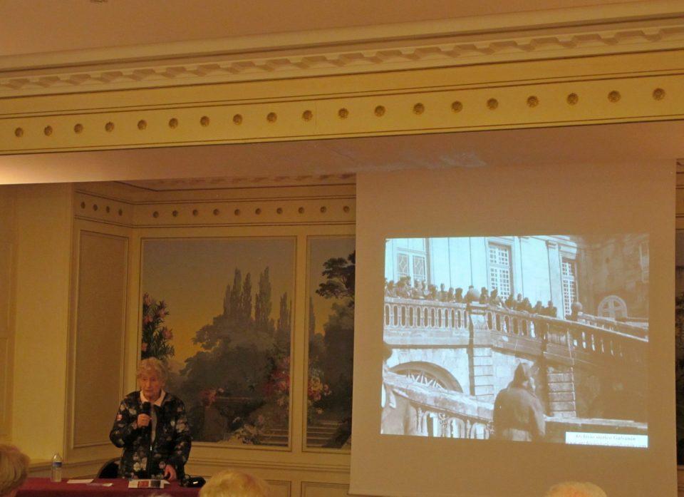 Amis chateau fontainebleau 2017, mostra castello di Fontainebleau, conferenza