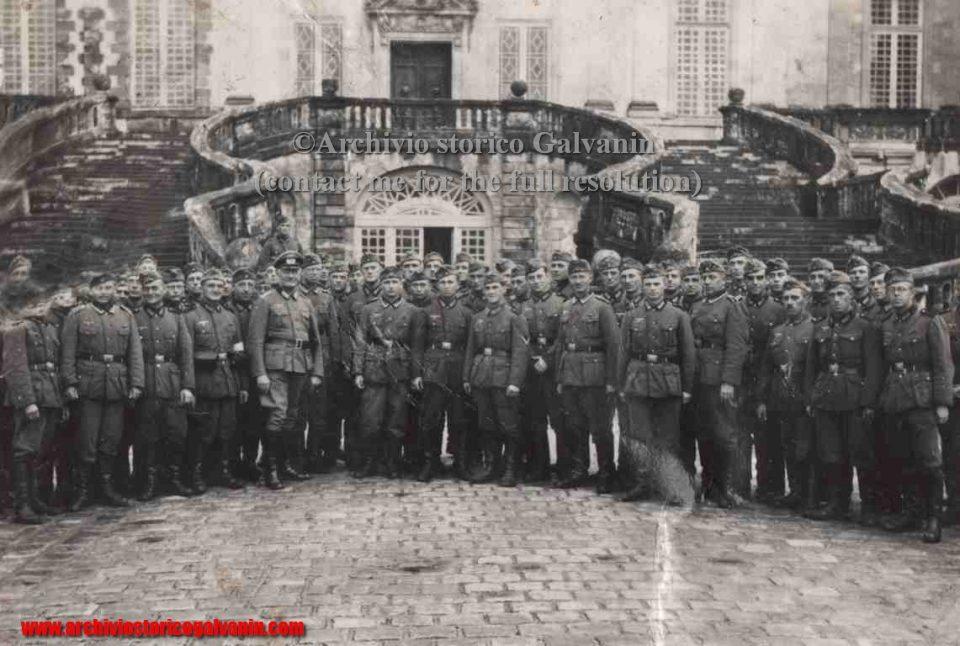 Fontainebleau 1940, Fontainebleau 1941, Fontainebleau 1942, Fontainebleau 1943, Fontainebleau 1944, Fontainebleau ww2, Château fontainebleau occupation, castello di Fontainebleau, Generale Ruoff
