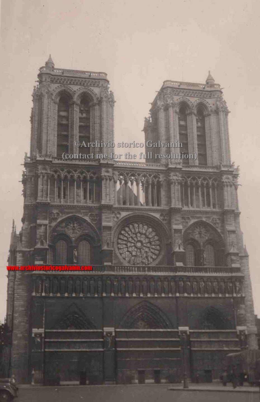Notre Dame 1940, Notre Dame 1941, Notre Dame 1942, Notre Dame 1943, Notre Dame 1944, Notre Dame occupation, paris 1940