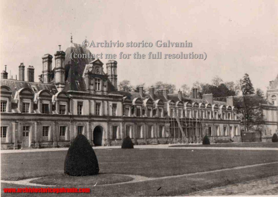 Fontainebleau 1940, Fontainebleau 1941, Fontainebleau 1942, Fontainebleau 1943, Fontainebleau 1944, Fontainebleau ww2, Château fontainebleau occupation, castello di Fontainebleau