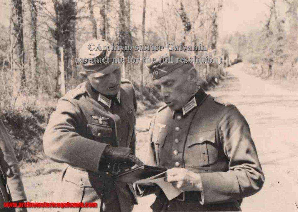 Hérouvillette ww2, Hérouvillette 1940, Hérouvillette 1941, Hérouvillette 1944, Tonga operation, Operazione tonga, Pegasus Bridge, Horsa bridge, Normandie 1944, 594 R.I 1941, 594 r.i. ww2, Caen, ufficiali tedeschi, D- Day, mappe tedeschi