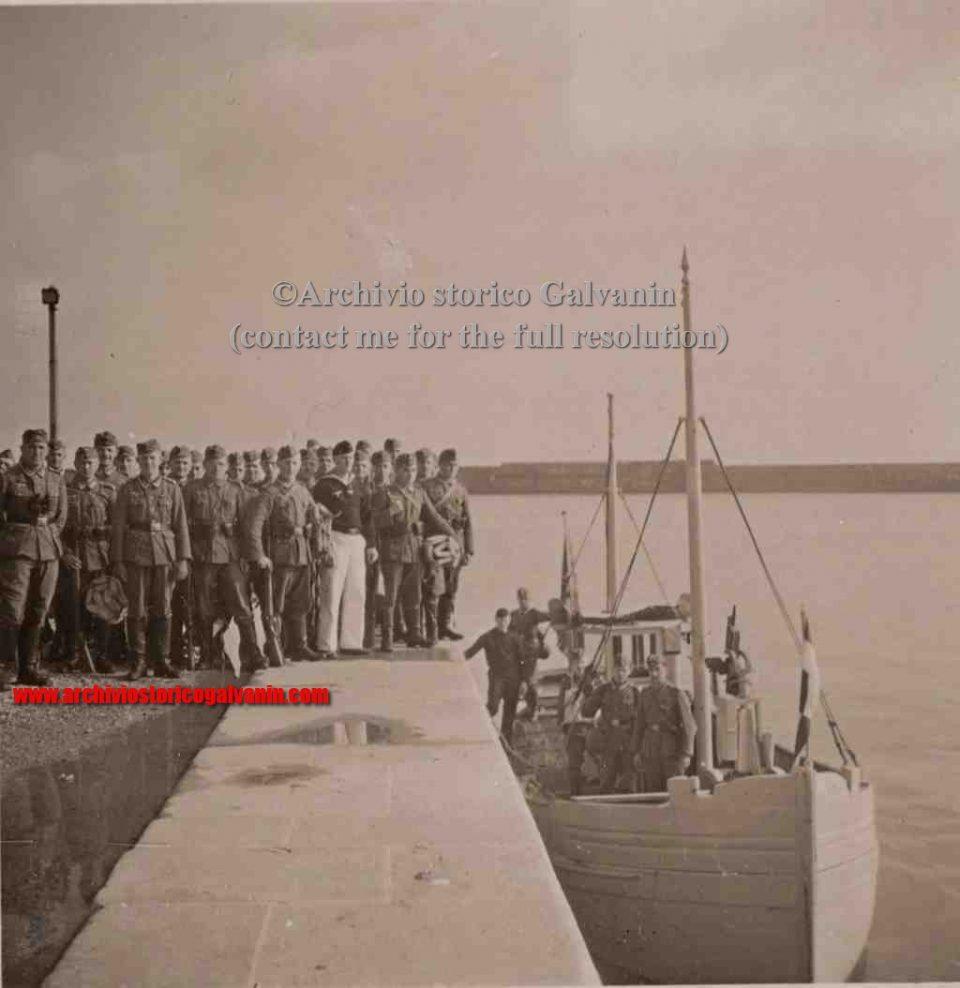 port en Bessin ww2, Port en Bessin 1940, port en Bessin 1941, port 1942, port en Bessin 1943, Port en Bessin 1944, Port en Bessin ww2, Normandie ww2, Normandie 1944 Hotel de la Marin