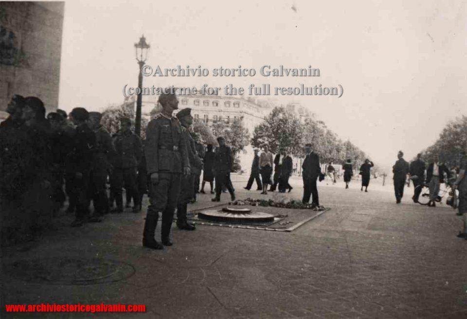 Tomba del milite ignoto, Arco di Trionfo 1940, Arc de triomphe de l'Étoile,