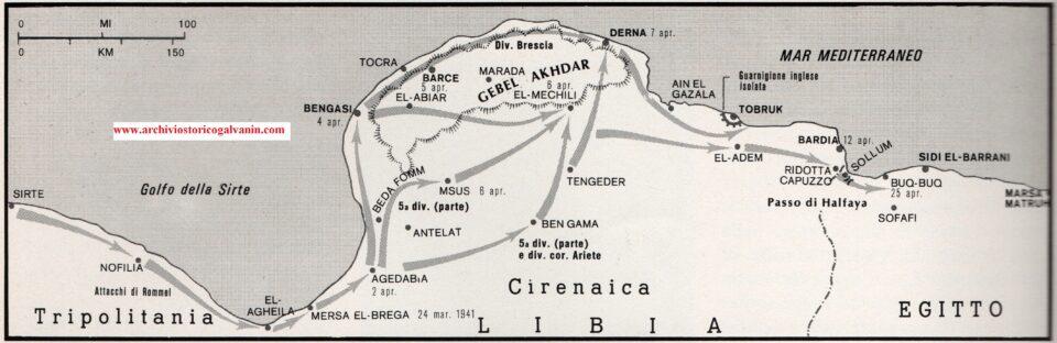 Offensiva rommel 1941, Rommel africa, operazioni libia 1941, Sirte, El Agheila, Agedabia, Bengasi, Tocra, Barce, Derna, El Mechili, Ain el gazala,Tobruk, ridotta capuzzo, Sollum, Sidi el Brrani, passo di halfaya, 1940, 1941