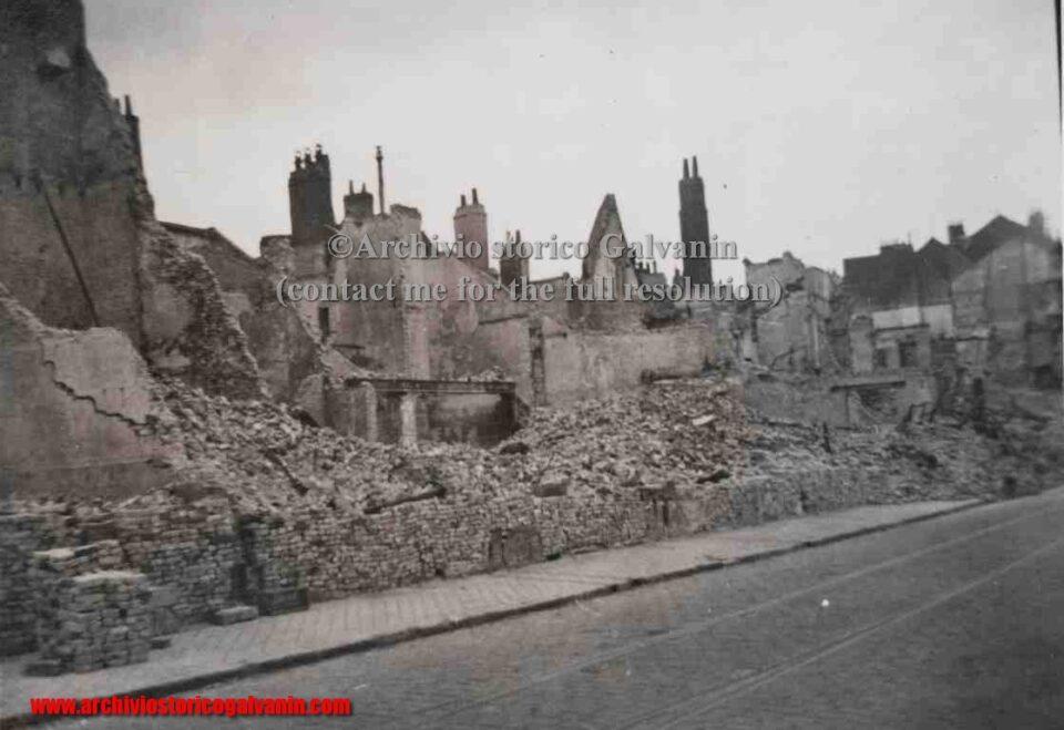 Dunkirk 1940, Dunkerque 1940, Dunkerque ww2, Dynamo operazione, rovine, distruzione, Dunkirk
